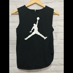 Jordan Black Sleeveless Shirt with Tank XL 13-15